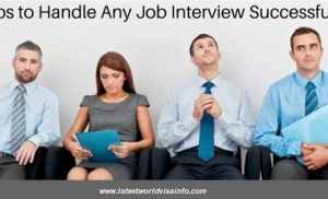 6 SECRETS TIPS FOR SUCCESSFUL INTERVIEW